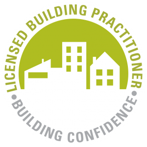 Licensed building practitioner building confidence logo