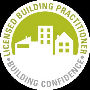 Licensed building practitioner building confidence logo